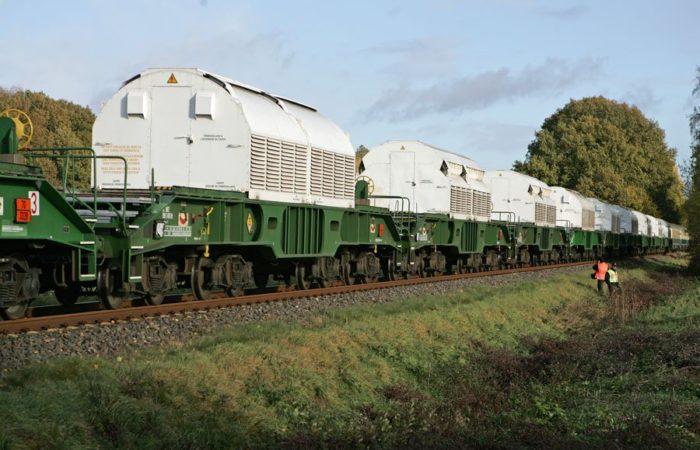 les fameux trains Castors